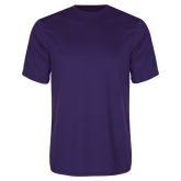 Syntrel Performance Purple Tee-Select-A-Logo