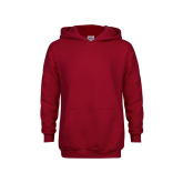 Youth Cardinal Fleece Hoodie-Select-A-Logo