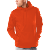 Under Armour Orange Armour Fleece Hoodie-Select-A-Logo