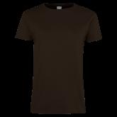 Ladies Brown T Shirt-Select-A-Logo