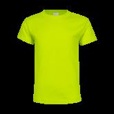 Youth Neon Green T Shirt-Select-A-Logo