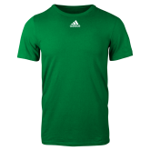 Adidas Kelly Green Logo T Shirt-Select-A-Logo