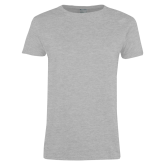 Ladies Grey T Shirt-Select-A-Logo
