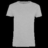 Ladies Grey T Shirt-Select-A-Logo