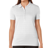 Ladies Callaway Opti Vent White Polo-Select-A-Logo