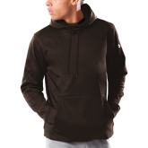 Under Armour Brown Armour Fleece Hoodie-Select-A-Logo