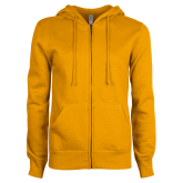 ENZA Ladies Gold Fleece Full Zip Hoodie-Select-A-Logo