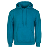 Heathered Sapphire Fleece Hoodie-Select-A-Logo