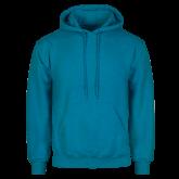 Heathered Sapphire Fleece Hoodie-Select-A-Logo
