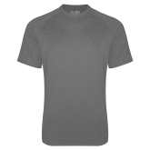 Under Armour Carbon Heather Tech Tee-Select-A-Logo