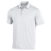 Under Armour White Performance Polo-Select-A-Logo