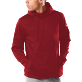 Under Armour Cardinal Armour Fleece Hoodie-Select-A-Logo