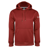 Under Armour Cardinal Performance Sweats Team Hoodie-Select-A-Logo