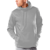 Under Armour Grey Armour Fleece Hoodie-Select-A-Logo