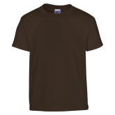 Youth Brown T Shirt-Select-A-Logo