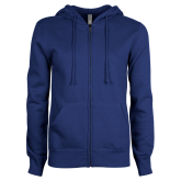 ENZA Ladies Royal Fleece Full Zip Hoodie-Select-A-Logo