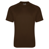 Under Armour Brown Tech Tee-Select-A-Logo