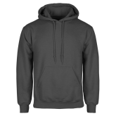Charcoal Fleece Hoodie-Select-A-Logo