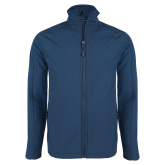 Navy Softshell Jacket-Select-A-Logo