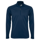 Syntrel Navy Interlock 1/4 Zip-Select-A-Logo