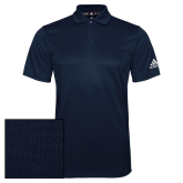 Adidas Climalite Navy Game Time Polo-Select-A-Logo