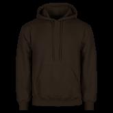 Brown Fleece Hoodie-Select-A-Logo