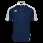 Adidas Modern Navy Varsity Polo-Select-A-Logo