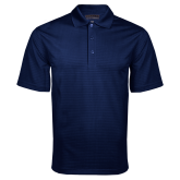 Navy Mini Stripe Polo-Select A Varsity Sport