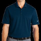 Nike Golf Dri Fit Navy Micro Pique Polo-Select-A-Logo