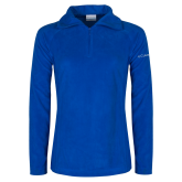 Columbia Ladies Half Zip Royal Fleece Jacket-Select-A-Logo