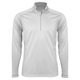 Syntrel White Interlock 1/4 Zip-Select-A-Sport