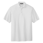 ACU Wildcat White Easycare Pique Polo-Select-A-Logo