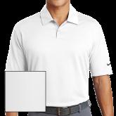 Nike Dri Fit White Pebble Texture Sport Shirt-Select-A-Logo