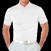 Callaway Opti Vent White Polo-Select-A-Logo