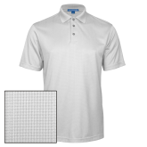 White Performance Fine Jacquard Polo-Select-A-Logo
