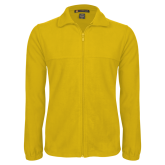 Fleece Full Zip Gold Jacket-Select-A-Logo