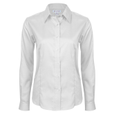 Ladies Red House White Long Sleeve Shirt-Select A Club Sport