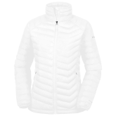 Columbia Lake 22 Ladies White Jacket-Select-A-Logo