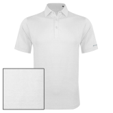 Columbia White Omni Wick Sunday Golf Polo-Select-A-Logo