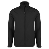 Black Softshell Jacket-Select-A-Logo
