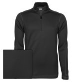 Nike Sphere Dry 1/4 Zip Black Pullover-Select-A-Logo