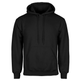 Champion Black Fleece Hood-Select-A-Logo