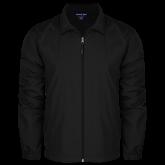Full Zip Black Wind Jacket-Select-A-Logo