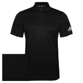 Adidas Climalite Black Game Time Polo-Select-A-Logo
