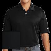 Nike Dri Fit Black Pebble Texture Sport Shirt-Select-A-Logo