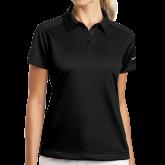 Ladies Nike Dri Fit Black Pebble Texture Sport Shirt-Select-A-Logo