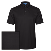 Black Performance Fine Jacquard Polo-Select-A-Logo