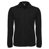 Fleece Full Zip Black Jacket-Select-A-Logo
