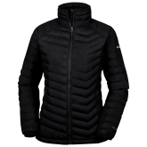 Columbia Lake 22 Ladies Black Jacket-Select-A-Logo