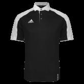 Adidas Modern Black Varsity Polo-Select-A-Logo